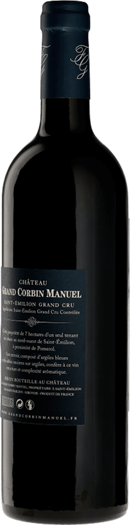 Chateau Grand Corbin Manuel 2010