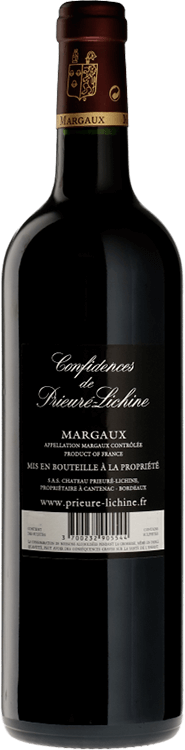 Confidences de Prieure-Lichine 2014