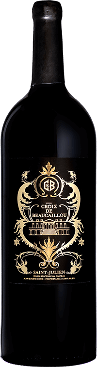 Croix de Beaucaillou by Jade Jagger 2009