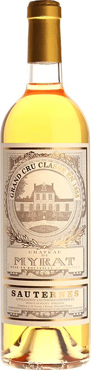 Image for Chateau de Myrat 2010 from Millesima USA