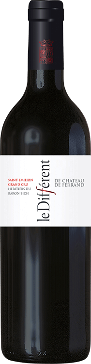 Grafik für Le Différent de Château de Ferrand 2010 in Millesima Deutschland