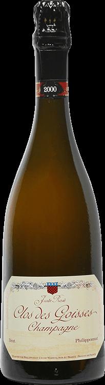 Philipponnat : Clos des Goisses Juste Rosé 2000