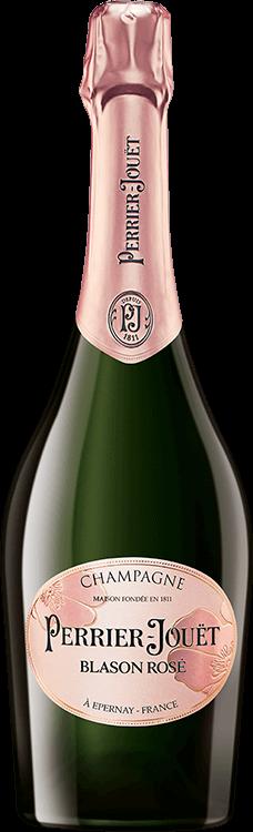 Grafik für Perrier Jouët : Blason Rosé in Millesima Deutschland