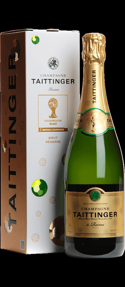 Taittinger : Cuvée Collector Fifa Brut Réserve