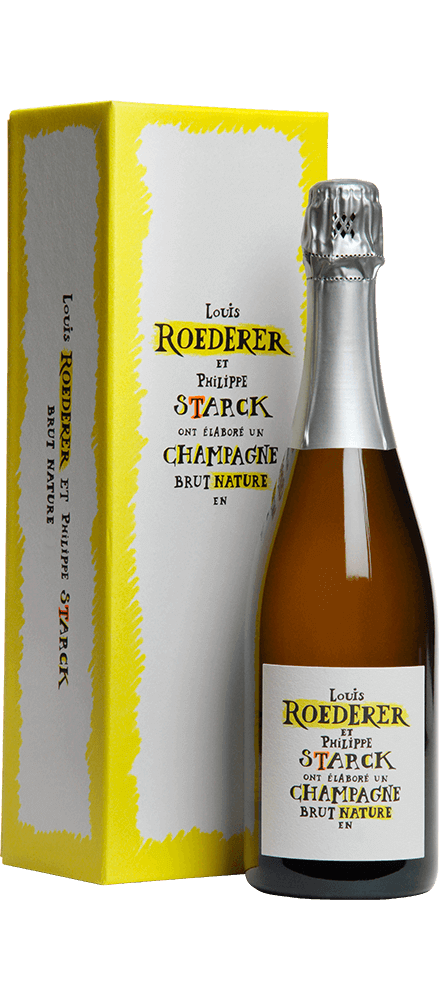 Louis Roederer : Brut Nature Edition Limitée by Philippe Starck 2009