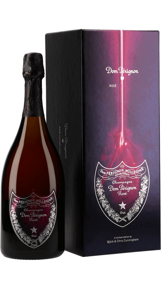 Dom Pérignon : Rosé Vintage Edition Limitée Björk 2004