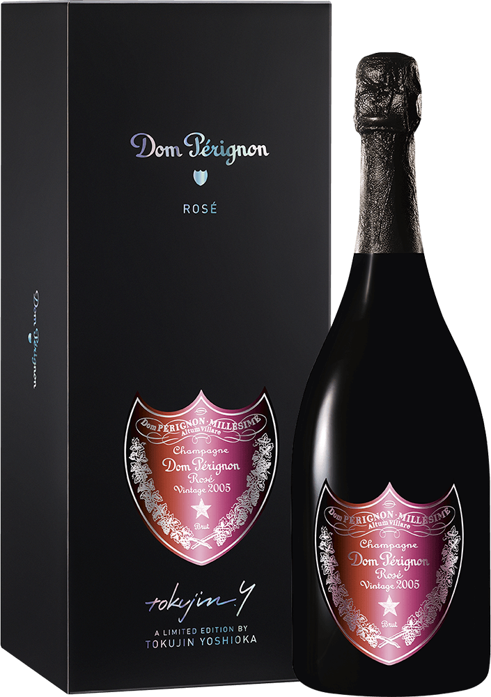 Dom Pérignon : Rosé Vintage Edition Limitée by Tokujin Yoshioka 2005