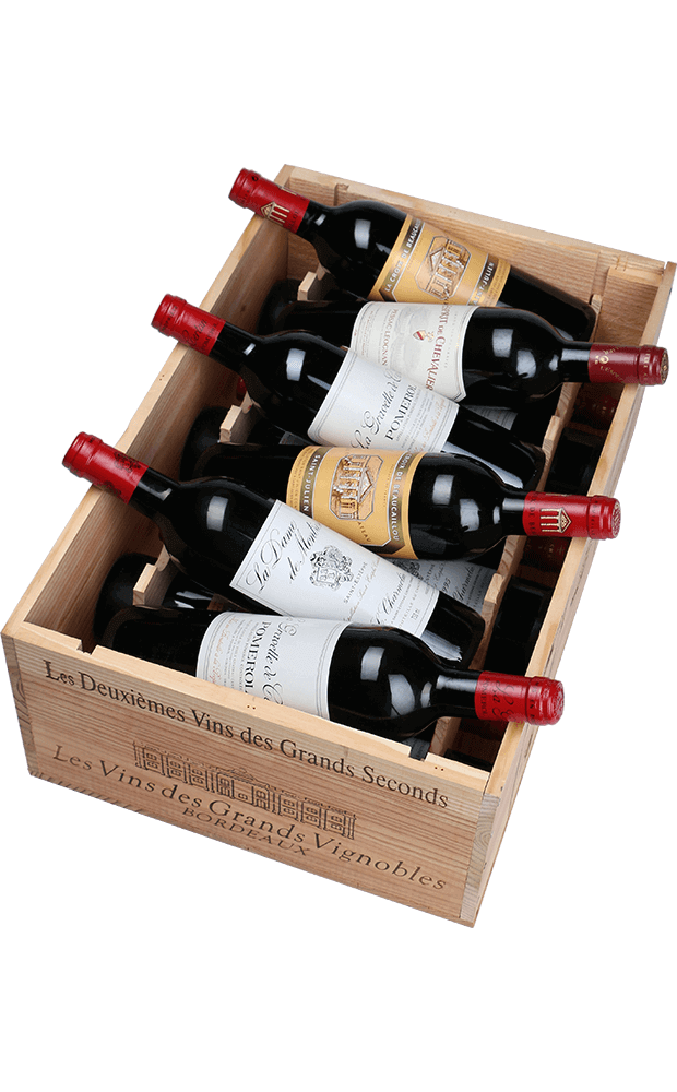 "Caisse Les 2e vins de ""Grands Seconds"" 1995"