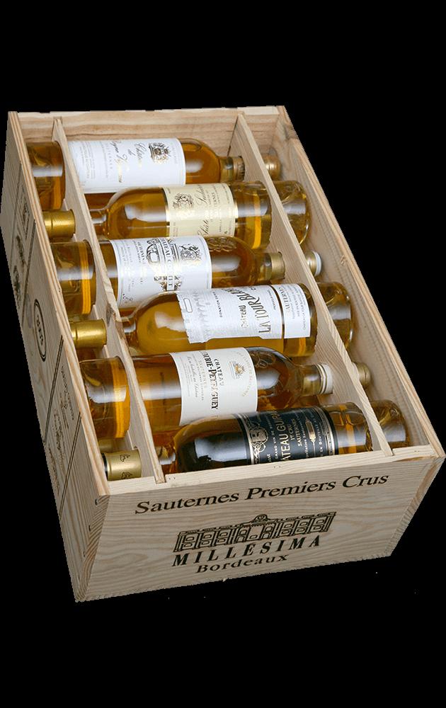 Sauternes 1ers crus classés tasting case 2003