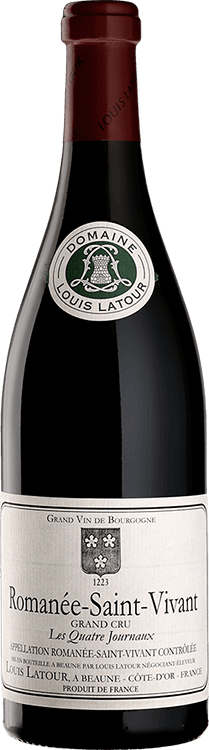 """Louis Latour : Romanée-Saint-Vivant Grand cru """"Les Quatre Journaux"""" 2013"""