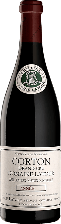 """Louis Latour : Corton Grand cru """"Domaine Latour"""" 2013"""