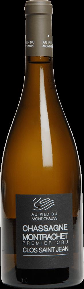 """Au Pied du Mont Chauve : Chassagne-Montrachet 1er cru """"Clos Saint Jean"""" 2010"""