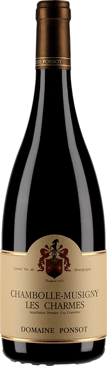 """Domaine Ponsot : Chambolle-Musigny 1er cru """"Les Charmes"""" 2014"""