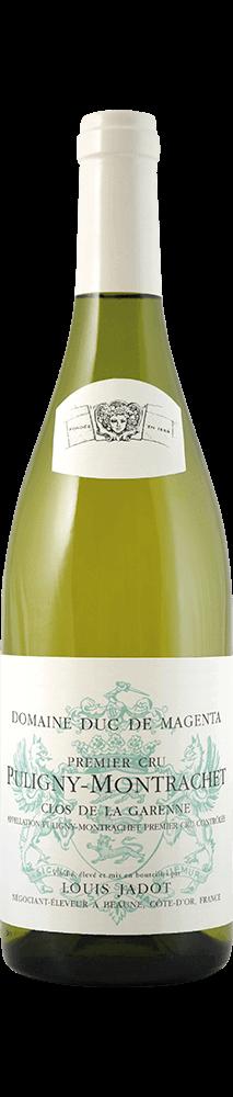 "Louis Jadot : Puligny-Montrachet 1er cru ""La Garenne"" Dom. Du Duc de Magenta 2016"