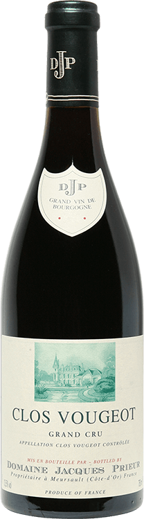 Domaine Jacques Prieur : Clos Vougeot Grand cru 2008