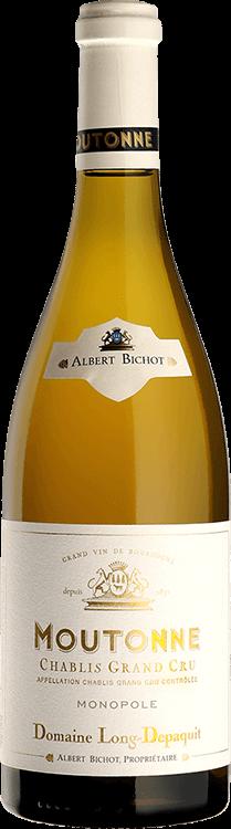 "Albert Bichot : Chablis Grand cru ""Moutonne"" Dom. Long-Depaquit Monopole 2012"