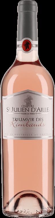 Image pour Château St Julien d'Aille : Triumvir des Rimbauds 2015 à partir de Millésima France