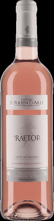 Grafik für Château St Julien d'Aille : Praetor 2014 in Millesima Deutschland