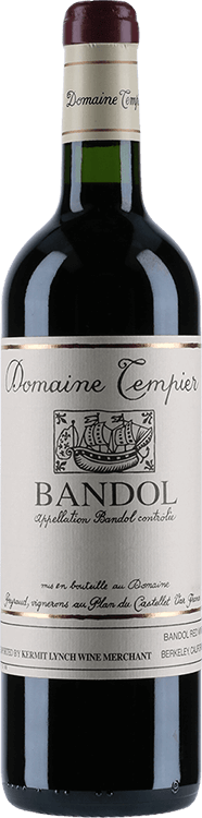 Image for Domaine Tempier : Bandol Rouge Cuvee Classique 2013 from Millesima USA