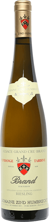"Domaine Zind-Humbrecht : Riesling Grand cru ""Brand"" Vendanges tardives 2006"