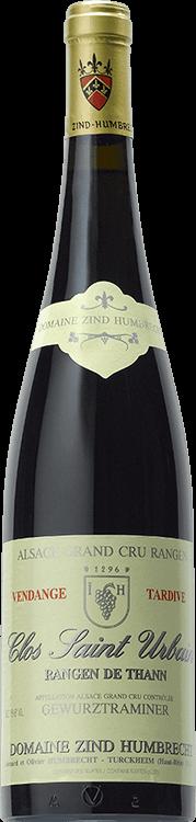 """Image pour Domaine Zind-Humbrecht : Gewurztraminer Grand cru """"Clos Saint Urbain Rangen de Thann"""" Vendanges tardives 2006 à partir de Millésima France"""