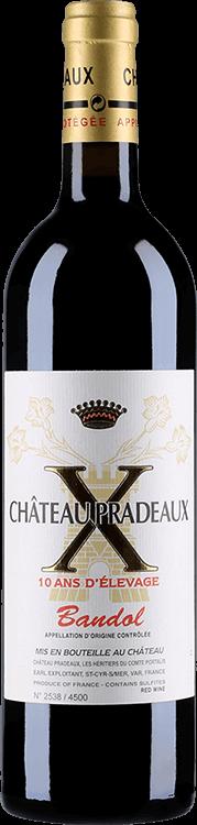 Chateau Pradeaux : 10 ans d'Elevage 2007