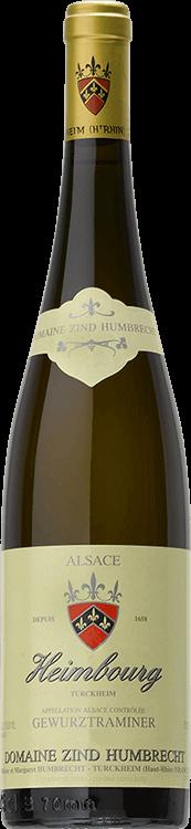 """Image pour Domaine Zind-Humbrecht : Gewurztraminer """"Heimbourg"""" 2003 à partir de Millésima France"""