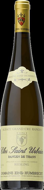 """Domaine Zind-Humbrecht : Riesling Grand cru """"Clos Saint Urbain Rangen de Thann"""" Sélection de Grains Nobles 1998"""