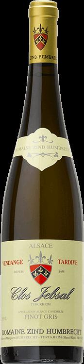 """Grafik für Domaine Zind-Humbrecht : Pinot Gris """"Clos Jebsal"""" Vendanges tardives 1999 in Millesima Deutschland"""