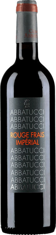 Domaine Comte Abbatucci : Rouge Frais Imperial 2016