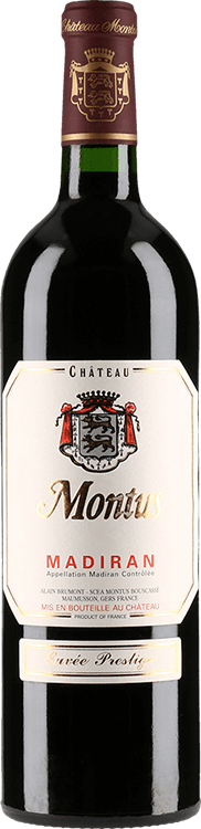 Grafik für Château Montus : Prestige 2015 in Millesima Deutschland