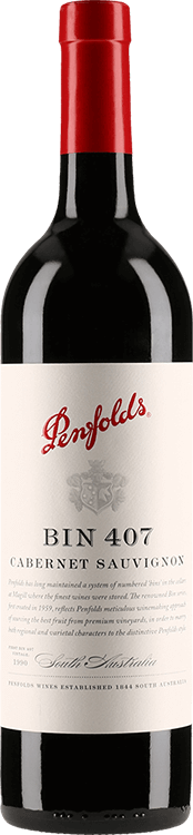 Penfolds : Bin 407 Cabernet Sauvignon 2015
