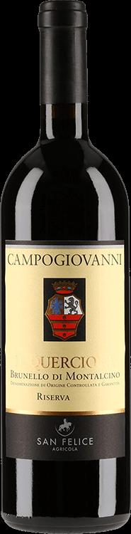 Grafik für San Felice : Campogiovanni Il Quercione Riserva 2007 in Millesima Deutschland