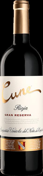 Beautifully smooth and elegant, the CVNE Cune Gran Reserva