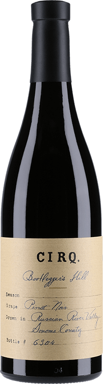 "Image for Cirq : ""Bootlegger's Hill"" Pinot Noir 2013 from Millesima USA"