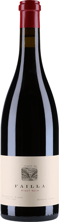 Failla : Pinot Noir Occidental Ridge Vineyard 2014
