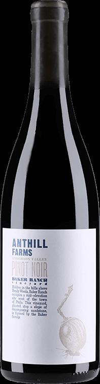 Anthill Farms : Baker Ranch Vineyard Pinot Noir 2015