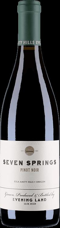 Evening Land Vineyards : Seven Springs Pinot Noir White Label 2015