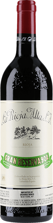 Image for La Rioja Alta : Gran Reserva 904 1997 from Millesima USA