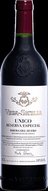 Vega Sicilia : Reserva Especial Unico