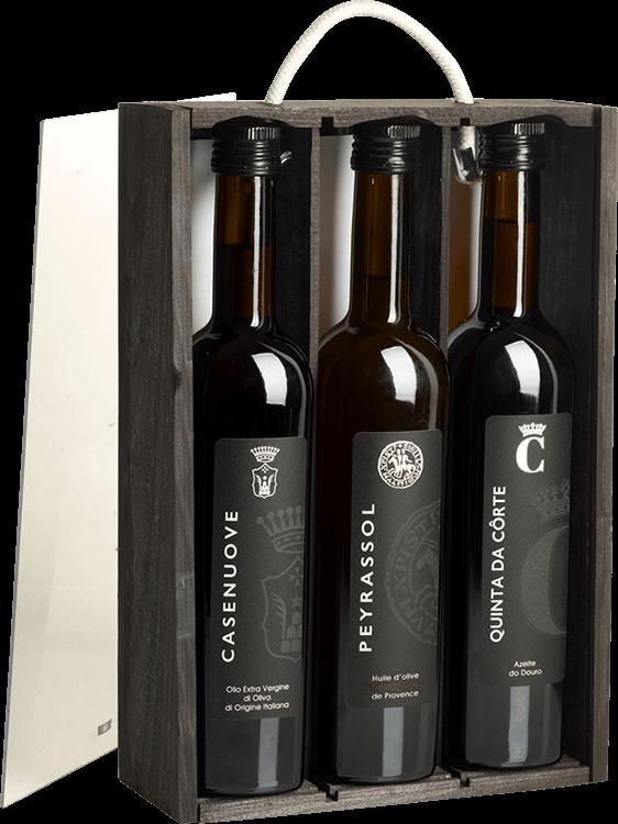 Vignobles Austruy : Coffret Trois Huiles Vignobles Austruy