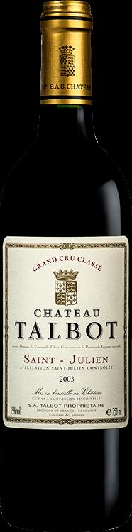 Château Talbot 2003