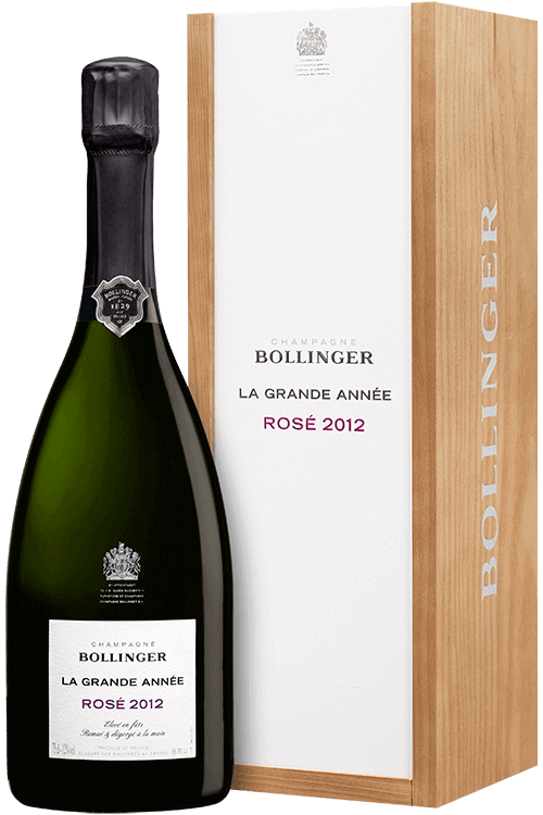 Bollinger : La Grande Année rosado 2012
