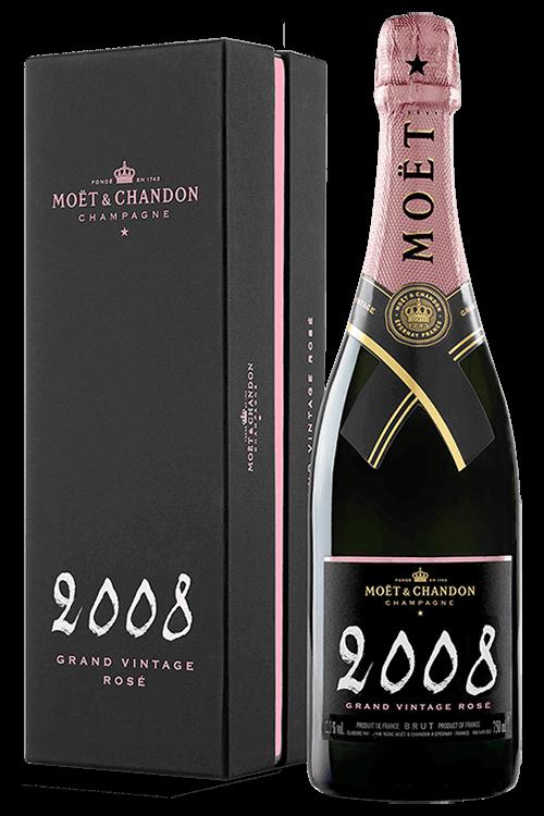 Moët & Chandon : Grand Vintage Rosé 2008