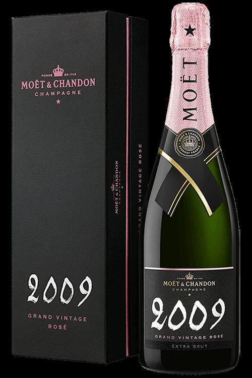 Moët & Chandon : Grand Vintage Rosé 2009