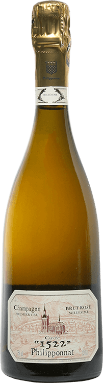 Philipponnat : Cuvée 1522 1er cru Rosé 2008