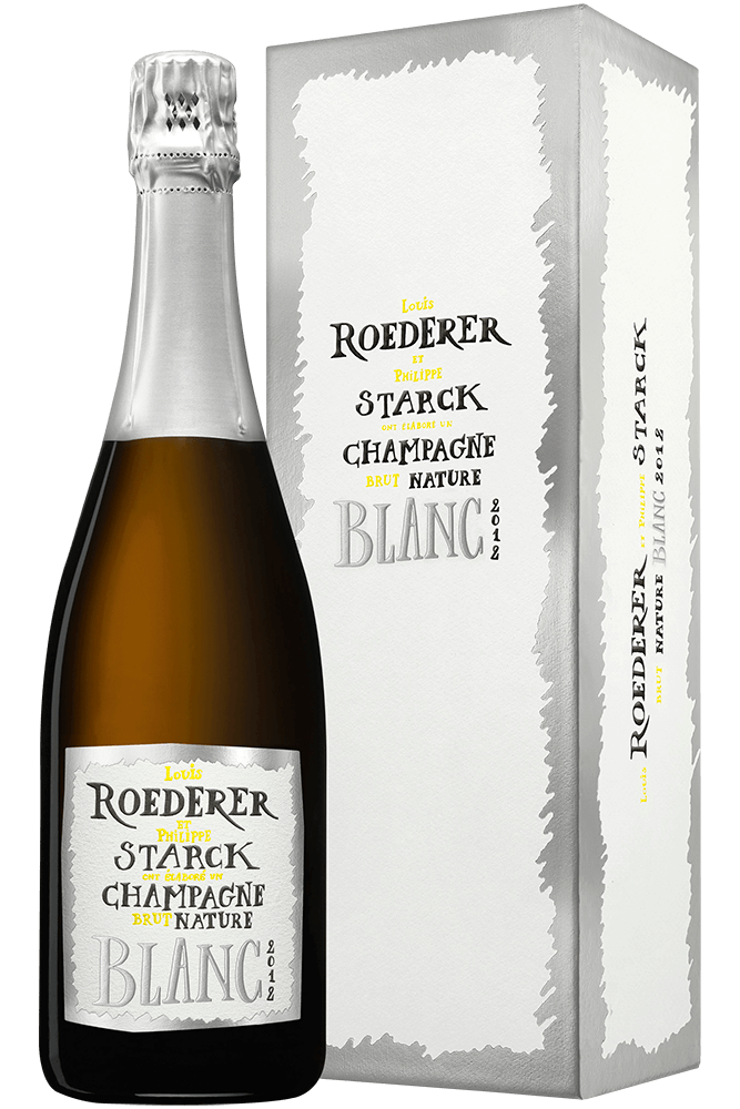 Louis Roederer : Brut Nature Limited Edition by Philippe Starck 2012