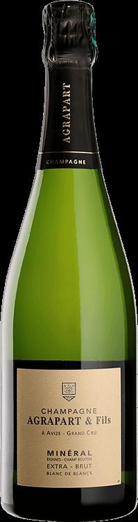 Champagne Agrapart : Minéral Blanc de Blancs Grand Cru Extra Brut 2015