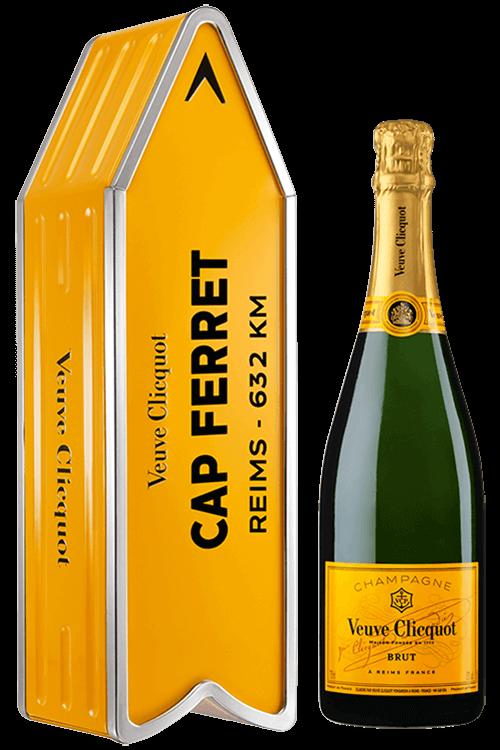Veuve Clicquot : Brut Carte Jaune Coffret Cap Ferret