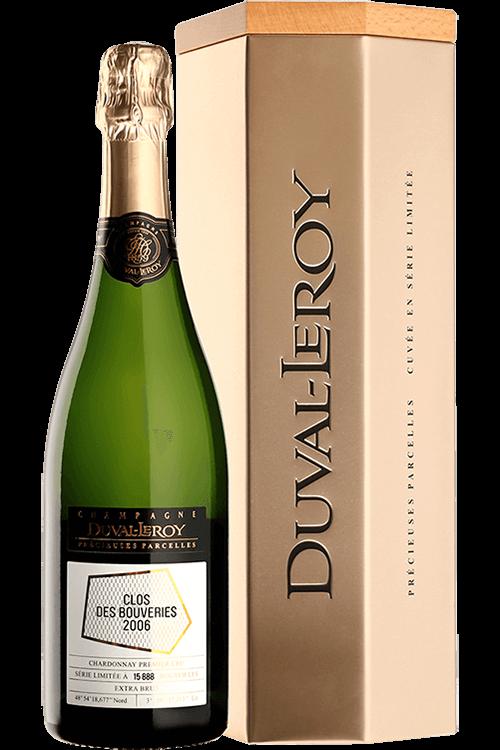 """Duval-Leroy : Extra-Brut Précieuses Parcelles """"Clos des Bouveries"""" Premier Cru 2006"""